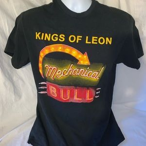 Kings of Leon mechanical bull shirt men's medium